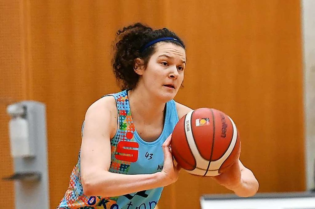 Emilly Kapitza war noch die effektivste Spielerin des USC in Keltern.  | Foto: Achim Keller