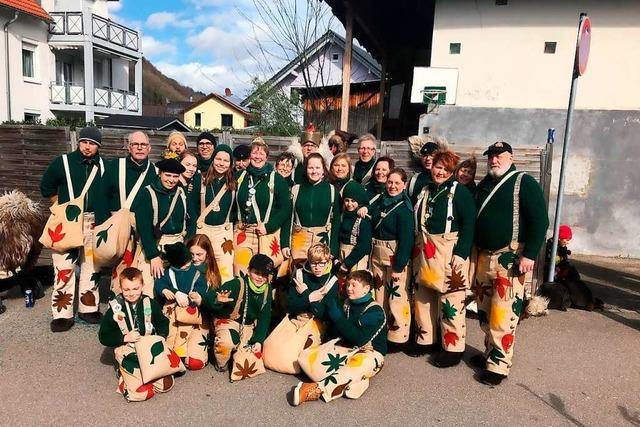 Die Dinkelberg-Schrate feiern das 50-jährige Bestehen