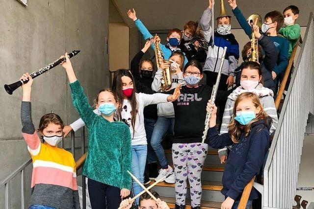 Die Bläserklasse am Städtischen Gymnasium Ettenheim ist ein Erfolg