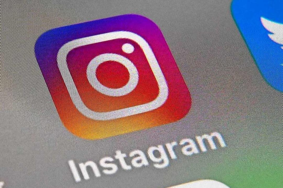 Auf der Social-Media-Plattform Instagr...ttlerweile ist das Profil stillgelegt.  | Foto: DENIS CHARLET (AFP)