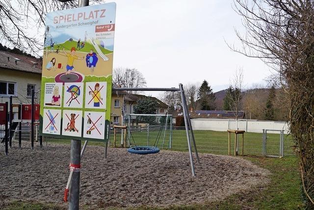 Spielplatz- und Parkplatzausbau