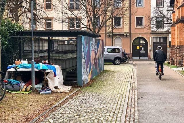 Nicht alle nehmen die Hilfsangebote für Wohnungslose in Offenburg an