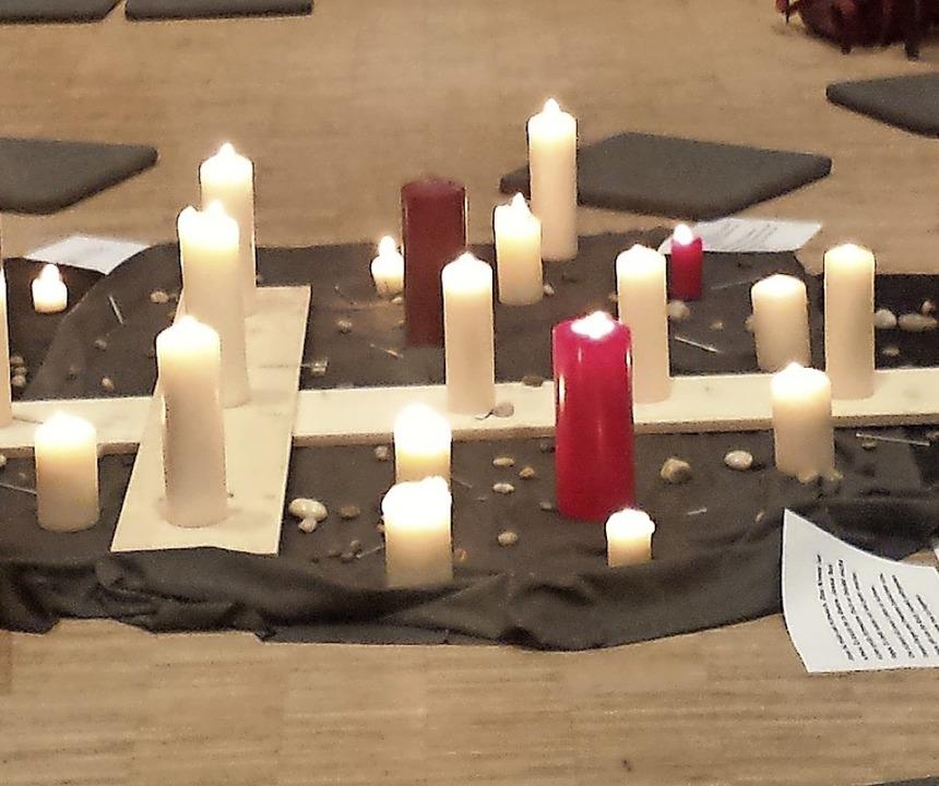 Lichter zu Osterzeit  | Foto: Paulusgemeinde