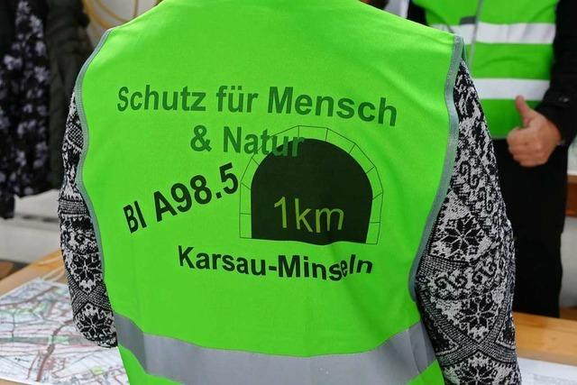Stadt Rheinfelden legt Resolution zur A98 vor