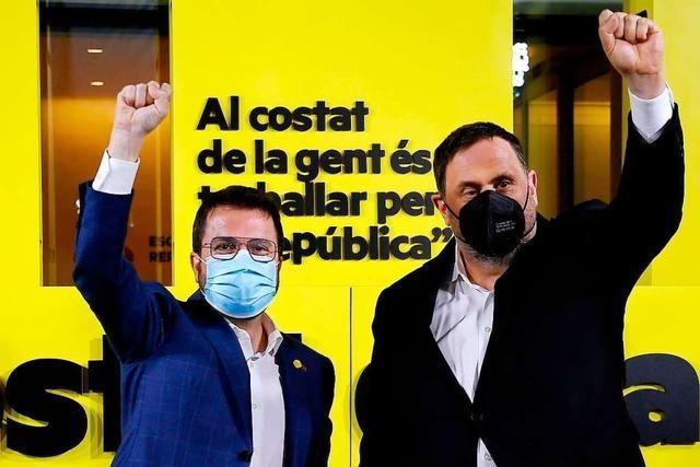 Separatisten in Katalonien erringen Wahlsieg