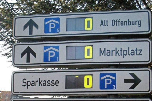 Kostenloses Parken nach dem Lockdown als Starthilfe für die Offenburger Innenstadt
