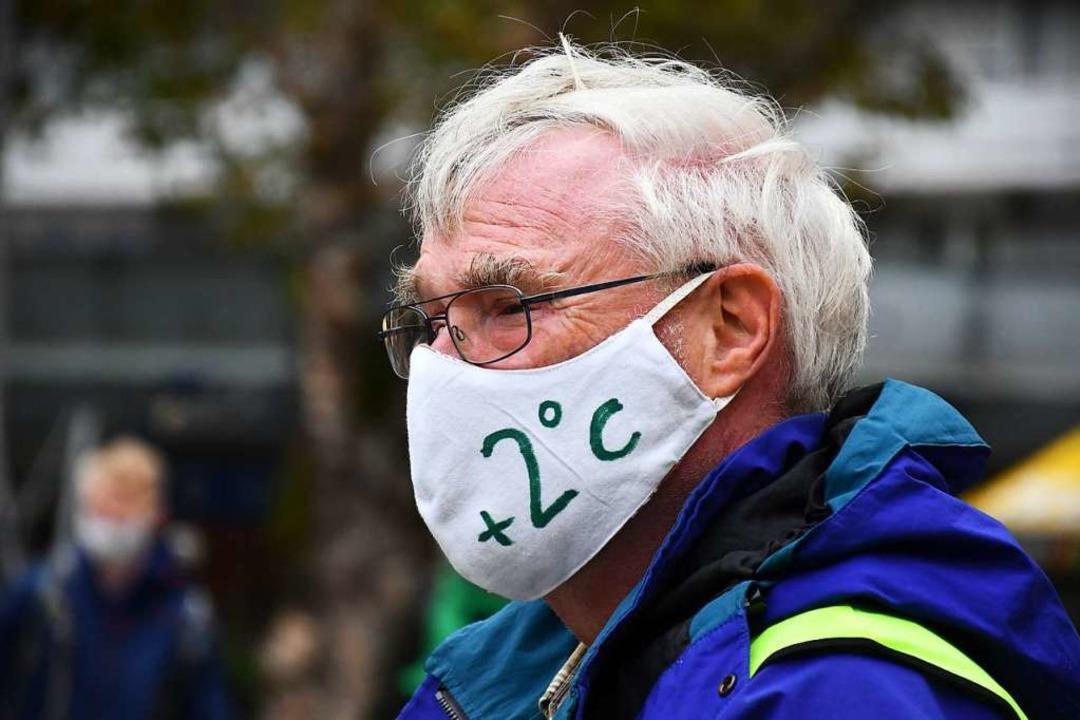 Auch wenn Demonstrationen in der Pande...eten Forderungen an die Rathausspitze.    Foto: Barbara Ruda