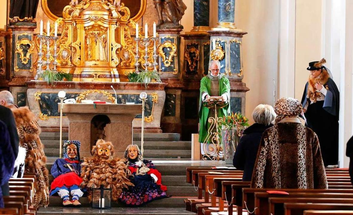 In Seelbach feierten die Narren Messe.  | Foto: Heidi Fößel