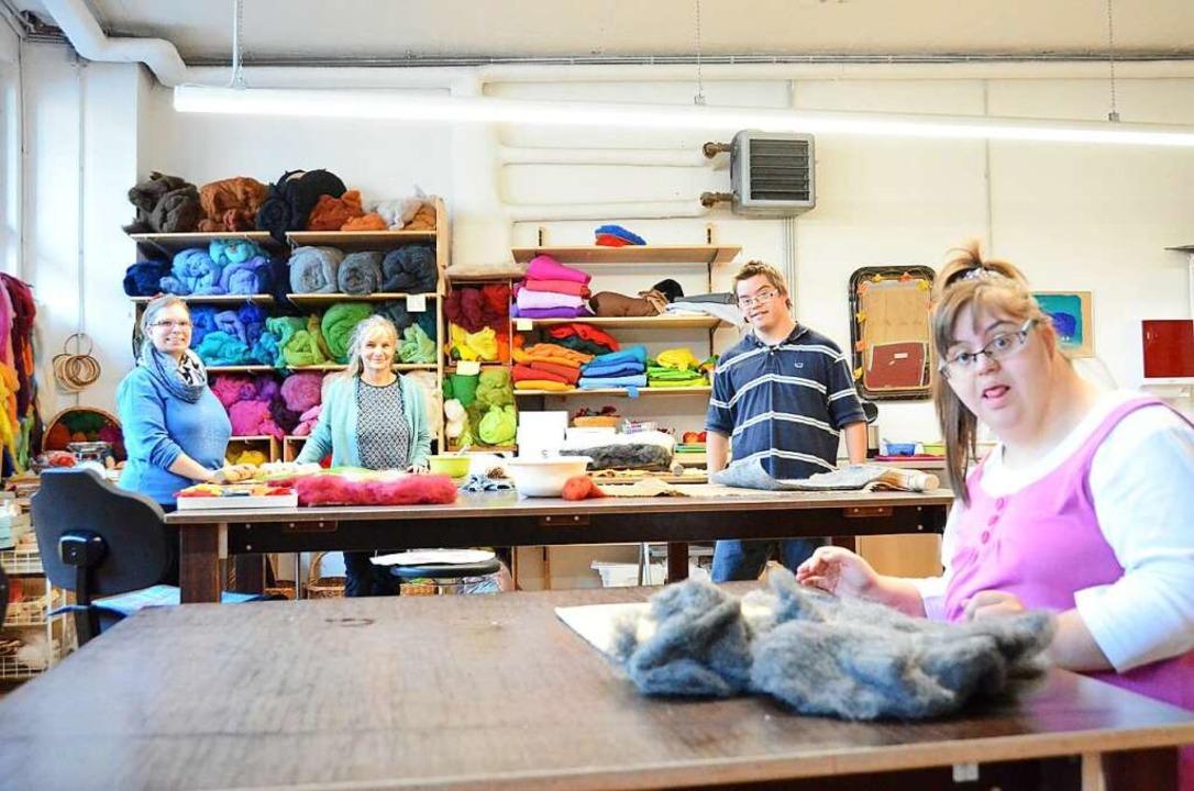 Im Kreis arbeiten überdurchschnittlich...Christophorus-Gemeinschaft in Kandern.    Foto: Moritz Lehmann