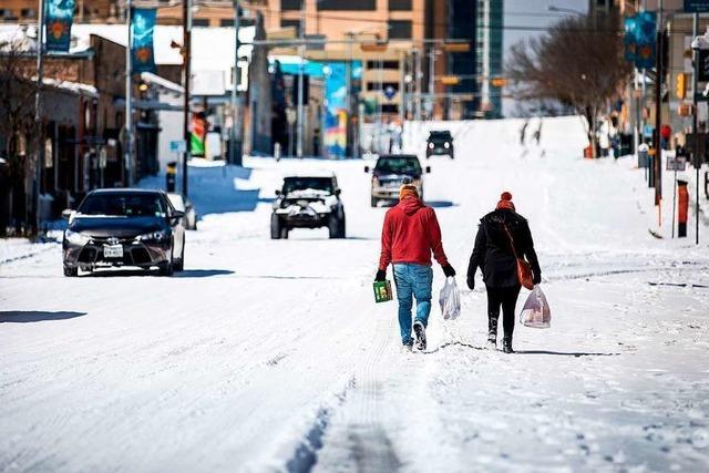 Millionen Menschen in Texas wegen Winterwetter ohne Strom