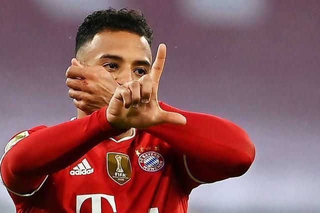 FC Bayern müht sich zu einem 3:3 gegen Bielefeld