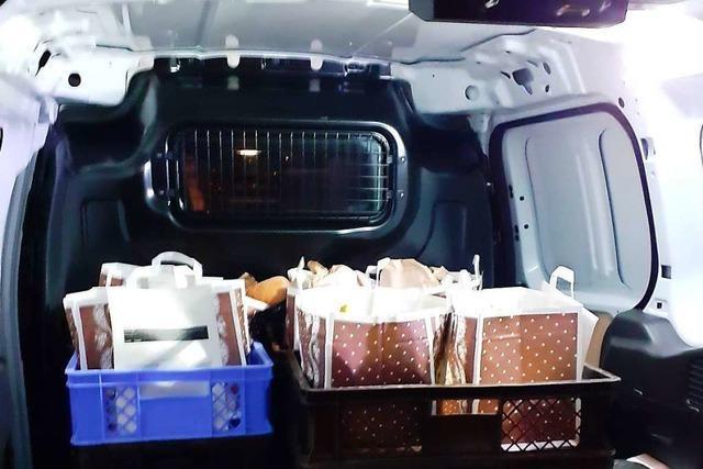 Neuer Lieferdienst: Brezel-Taxi bringt Frühstück nachhause