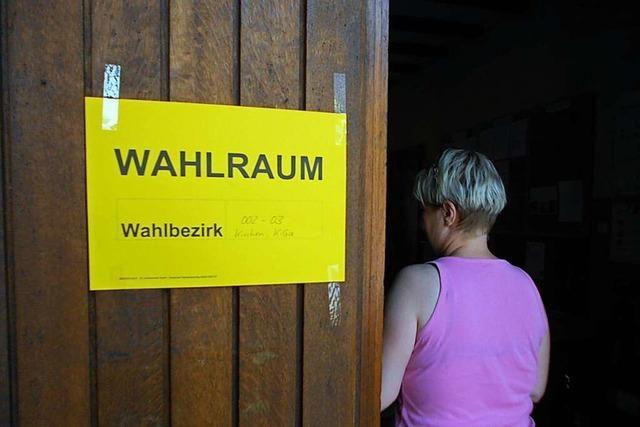 Schon 1477 Menschen aus Efringen-Kirchen haben Briefwahl beantragt