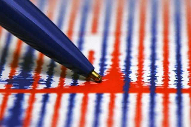 Schwaches Erdbeben in Grenzach-Wyhlen