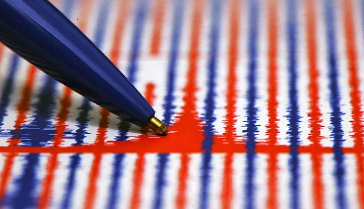Das Erdbeben hatte eine Stärke 0,9 auf der Richterskala    Foto: Fredrik von Erichsen dpa/lhe