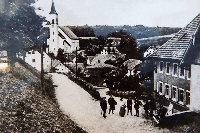 Das Rickenbacher Gasthaus Rössle war bekannt für seine gute Küche – bis es einem Brand zum Opfer fiel