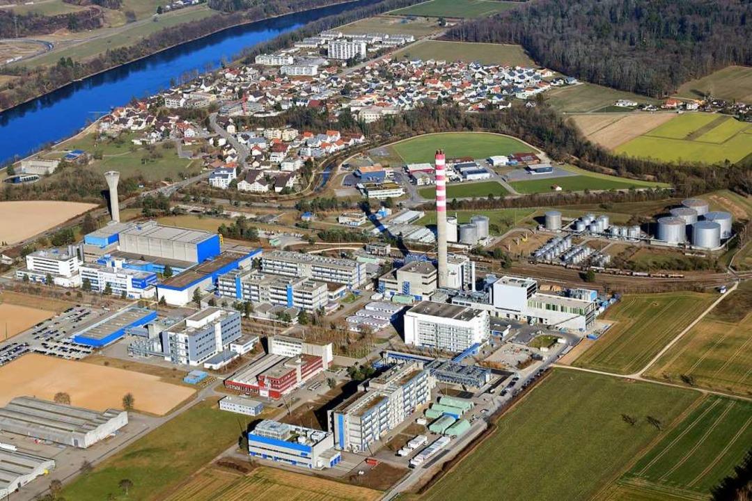 Das DSM Werk in Sisseln ist der weltgrößte  Produktionsstandort für Vitamin E    Foto: Erich Meyer