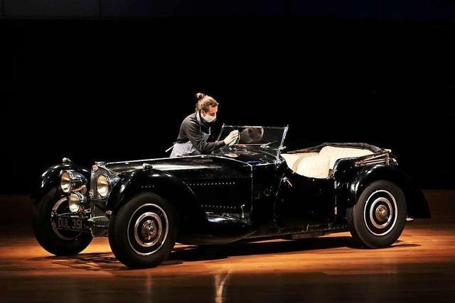 Seltener Bugatti wird versteigert: Bis zu 8 Millionen Euro Schätzwert
