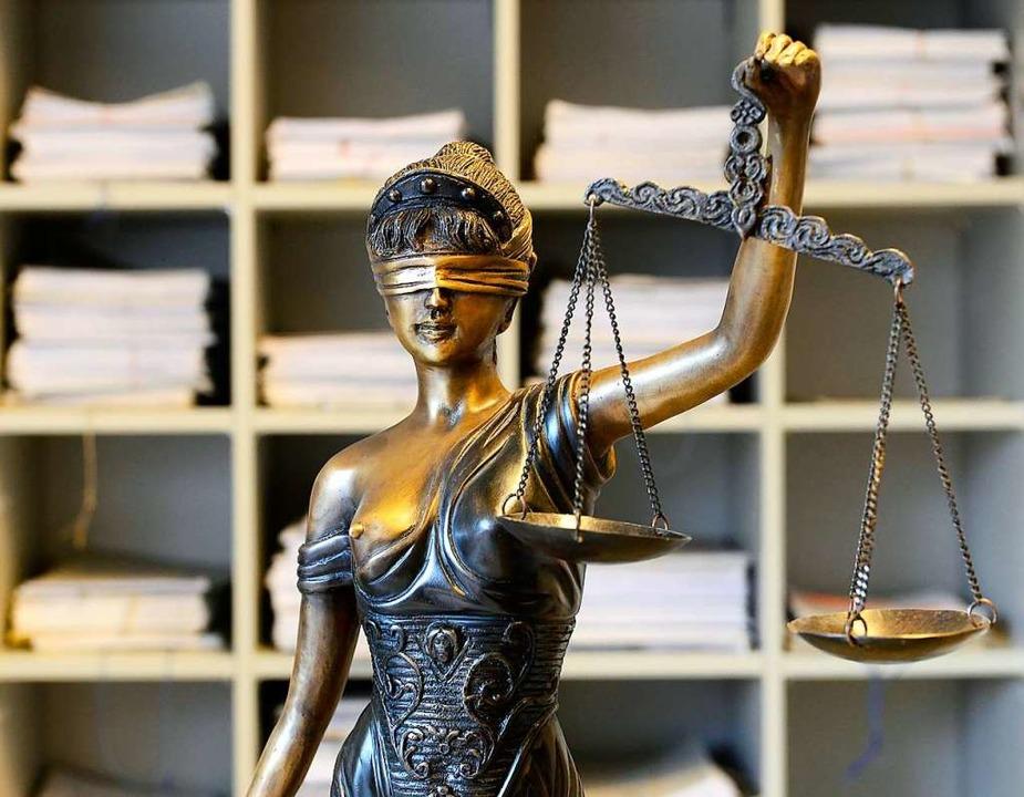 Der Lockdown beirrt Justiz  nicht.  | Foto: Ingo Schneider