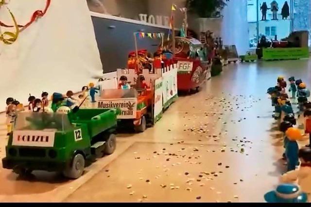 Playmobil-Umzug aus Fahrnau wird zum Internet-Hit