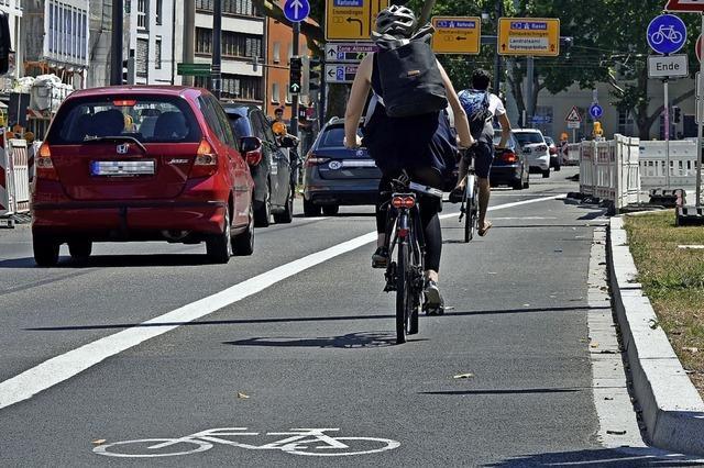 Radstreifen, Sanierungen und mehr: Das sind die großen Verkehrsprojekte in Offenburg