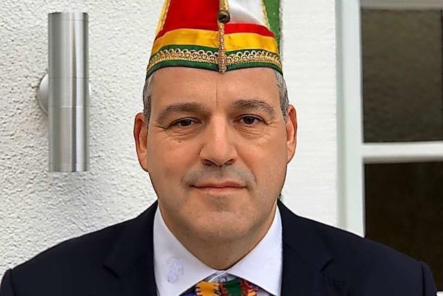 Zunftmeister Peter Ehrhardt: