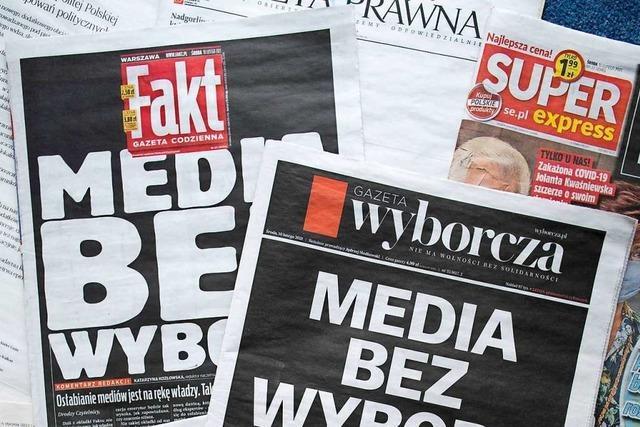 Mit Steuern will die PiS-Partei Privatmedien in die Knie zwingen