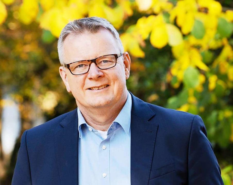 Amtsinhaber Dirk Blens tritt wieder an.    Foto: privat
