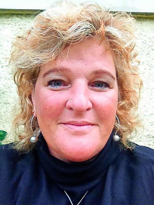 Petra Bienger, Ortschaftsrätin in Sulz... kandidiert für das  Bürgermeisteramt.    Foto: privat