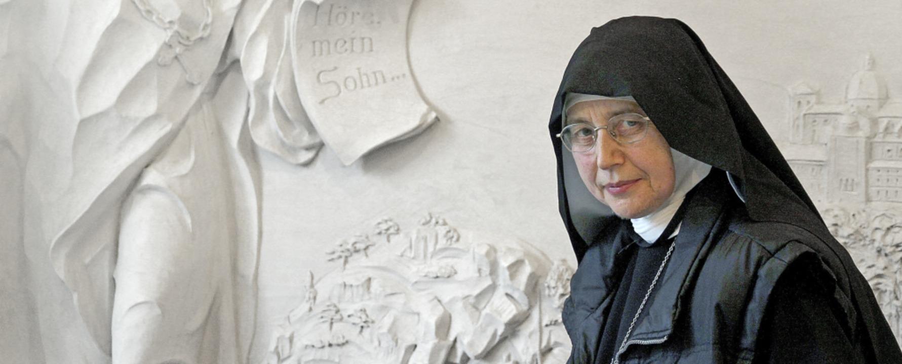 Die Ordensschwester Mechthild Thürmer ...nd soll deshalb nun  angeklagt werden.  | Foto: Dominik Baur