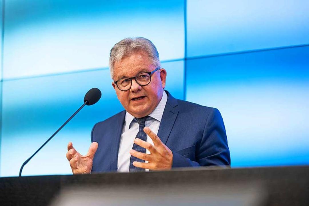 Justizminister Guido Wolf (CDU)    Foto: Marijan Murat (dpa)