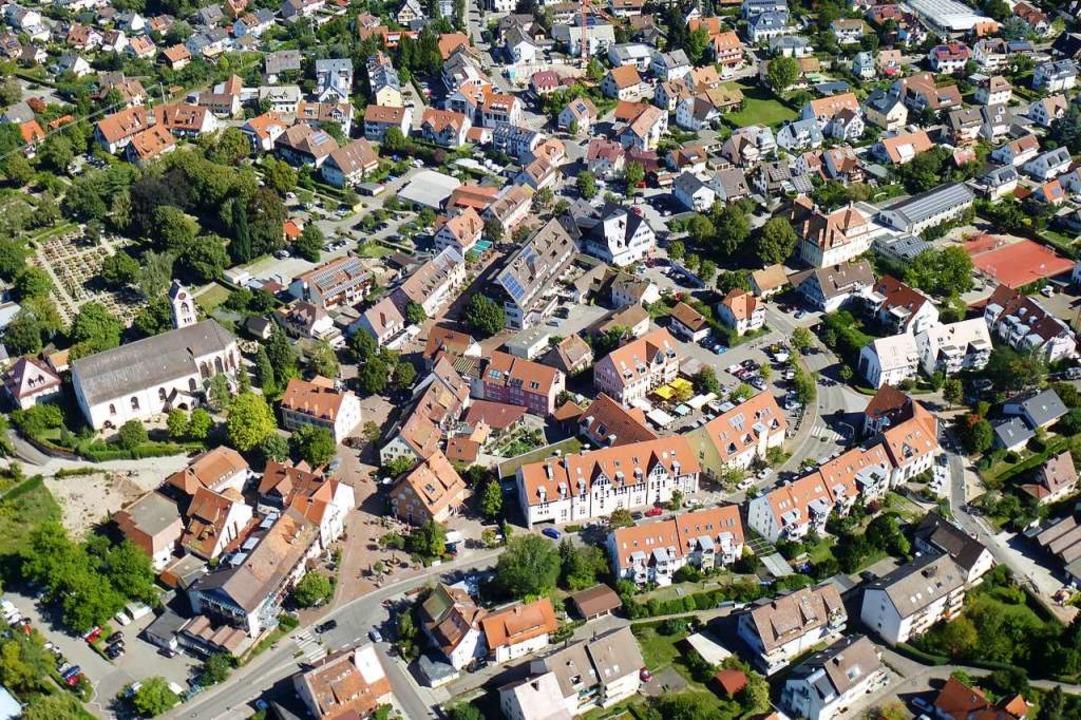Der Ortskern soll ein Anziehungspunkt ...8211; nicht nur für die Kirchzartener.  | Foto: Volker Jung