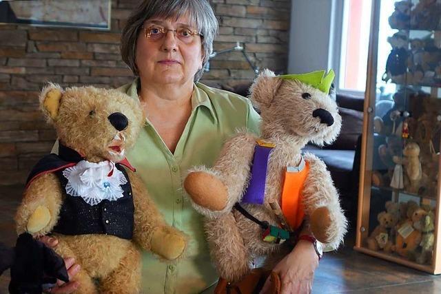 Zu Besuch in der Hertener Teddybären-Manufaktur