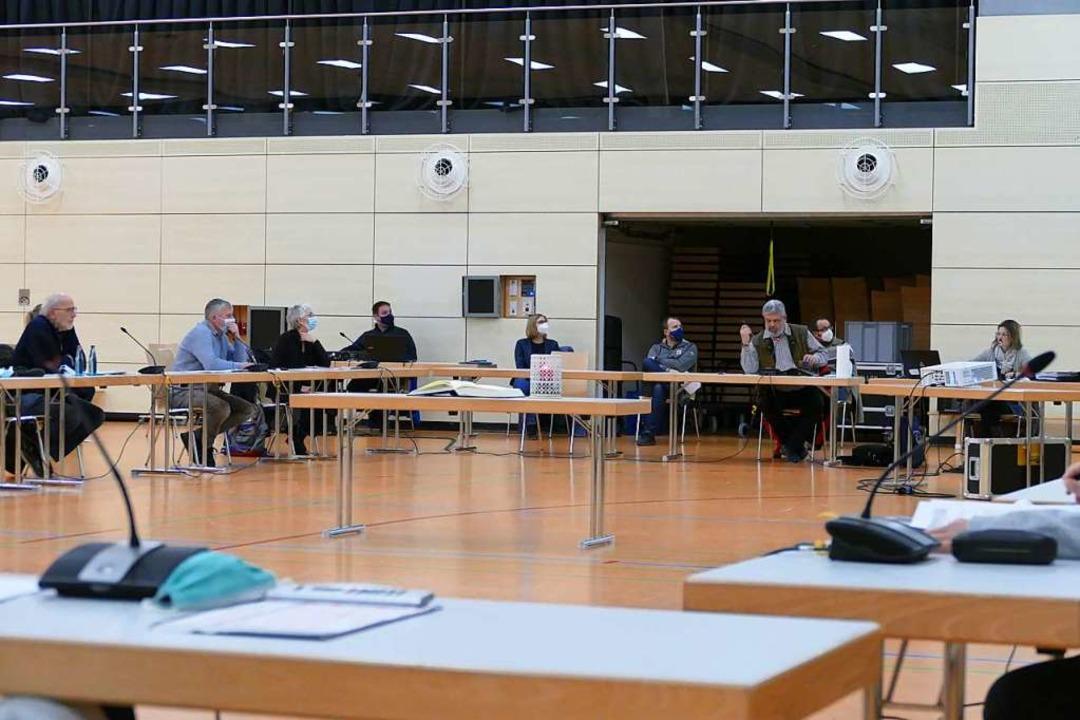 Der Bonndorfer Gemeinderat tagt aktuell in der Stadthalle (Archivbild).  | Foto: Juliane Kühnemund