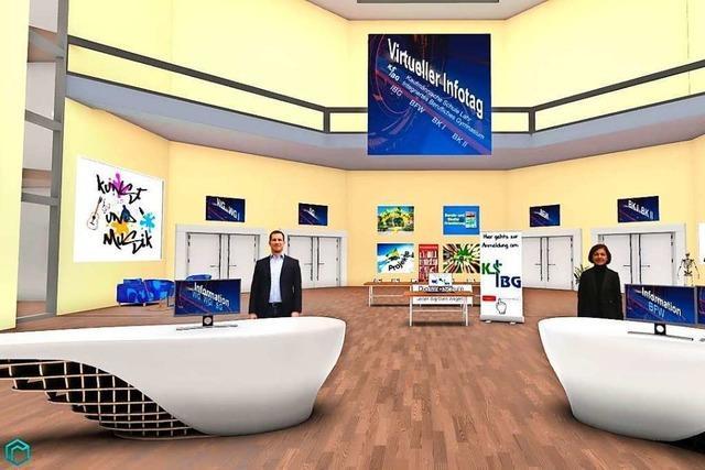 Virtueller Blick in die Klassenzimmer der Kaufmännischen Schulen in Lahr