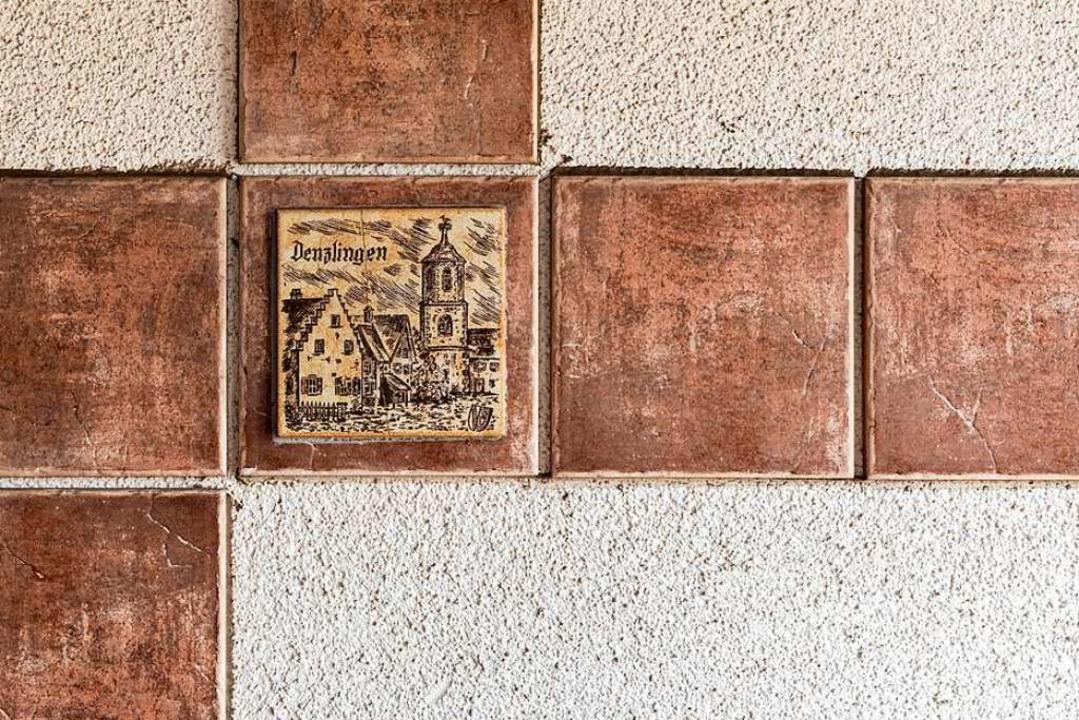 Motiv am alten Eingangsbereichs zur Gaststätte  | Foto: Hubert Gemmert