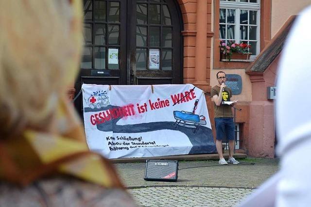 Bündnis und Ortenau-Klinikum streiten um eine Mahnwache in Lahr