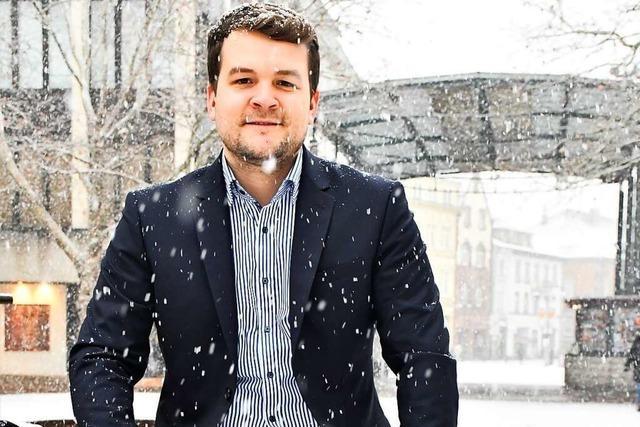 Felix Düster (FDP) will nicht nur mit klassisch liberalen Themen punkten