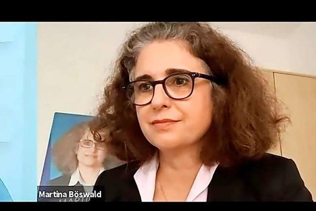 Martina Böswald (AfD) im BZ-Fragenwirbel: