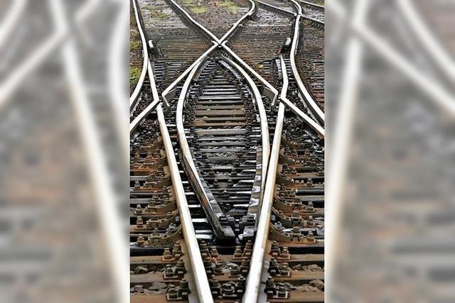 Es wird laut, wenn die Bahn Gleise erneuert