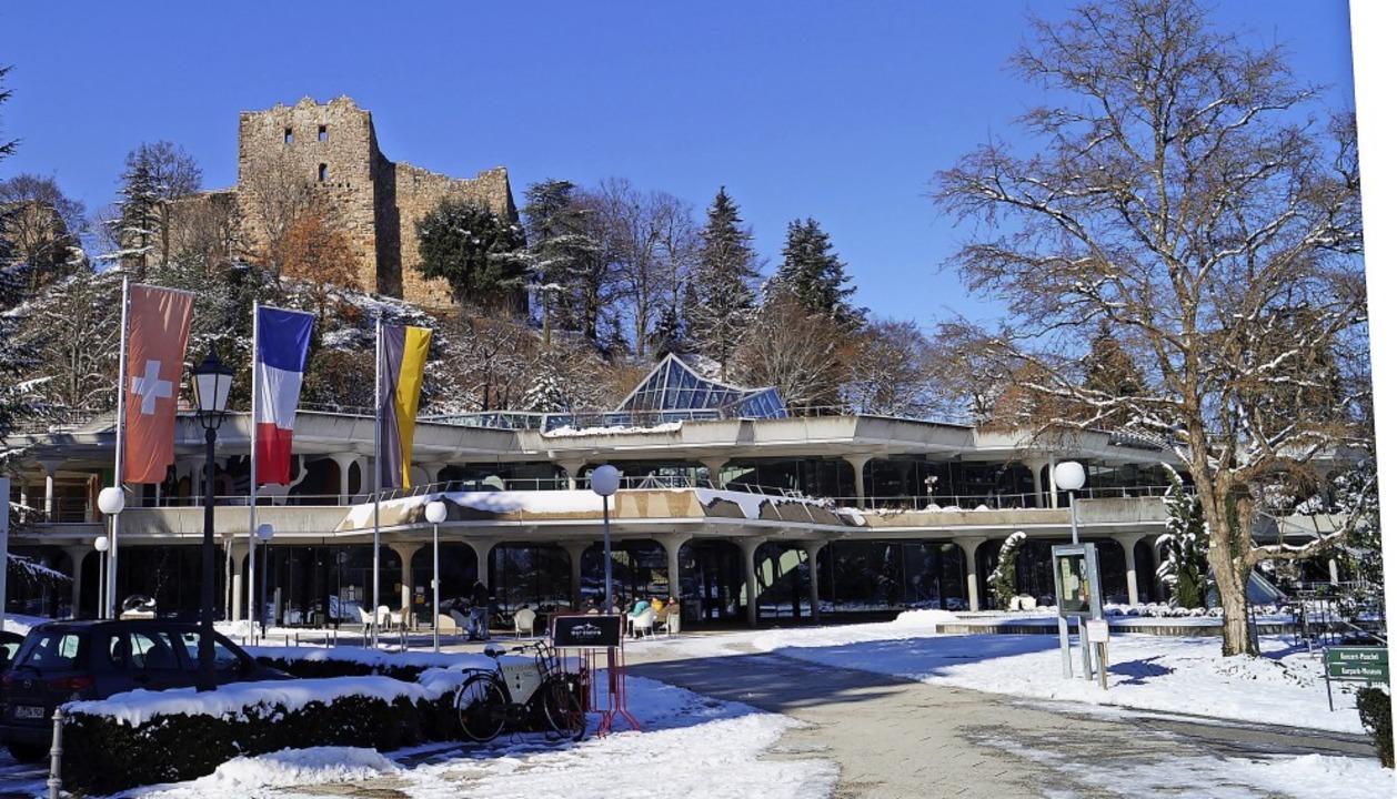 Badenweiler pachtet das Kurhaus künftig vom Land Baden-Württemberg.  | Foto: Silke Hartenstein