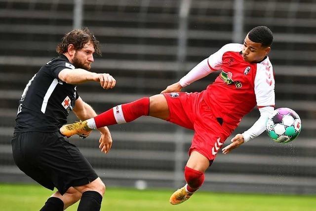 Der SC Freiburg II fasst gleich wieder Tritt