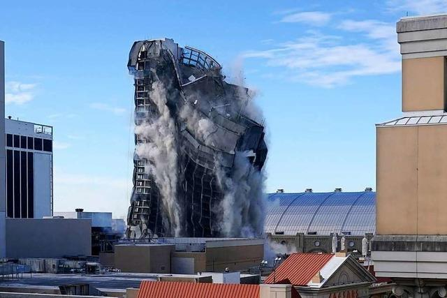 Donald Trumps Pleite-Casino ist gesprengt worden