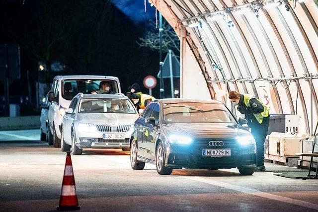 Wegen Mutationen: Kontrollen an Grenzen zu Tirol und Tschechien