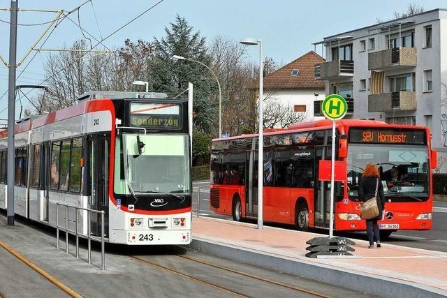 Die Freiburger Stadtbahnlinie 4 wird an zwei Tagen unterbrochen
