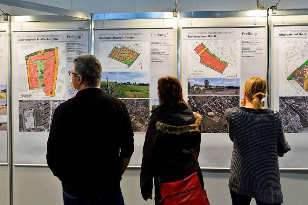 Die Freiburger Immobilienmesse muss in diesem Jahr ausfallen (Archivfoto).  | Foto: Michael Bamberger