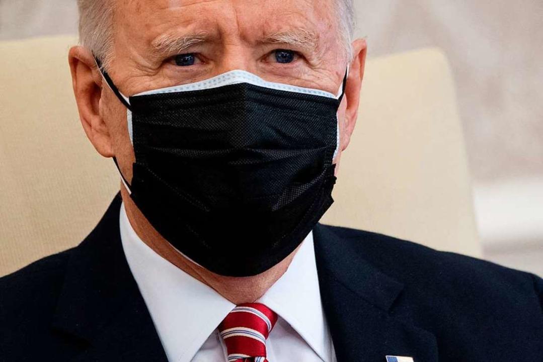 Joe Biden sieht die israelische  Siedlungspolitik kritisch.  | Foto: SAUL LOEB (AFP)