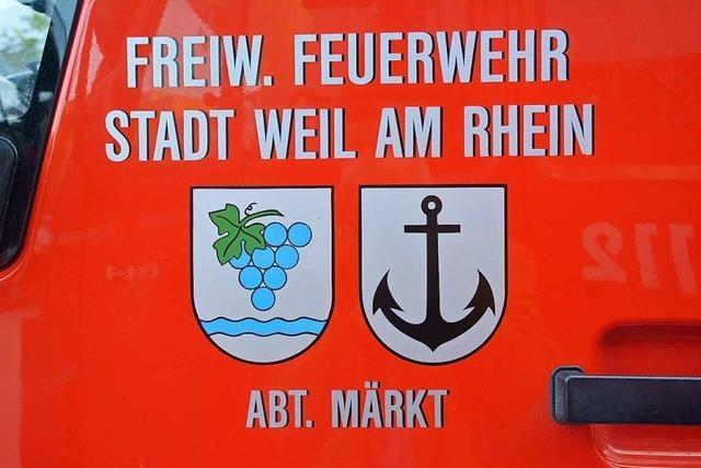 Feuerwehr Weil am Rhein will um Nachwuchs werben