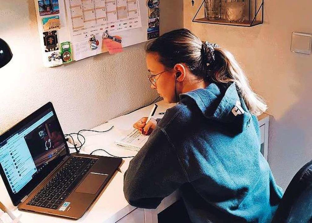 Aktuell findet der Unterricht online statt.    Foto: BZ-Azubis