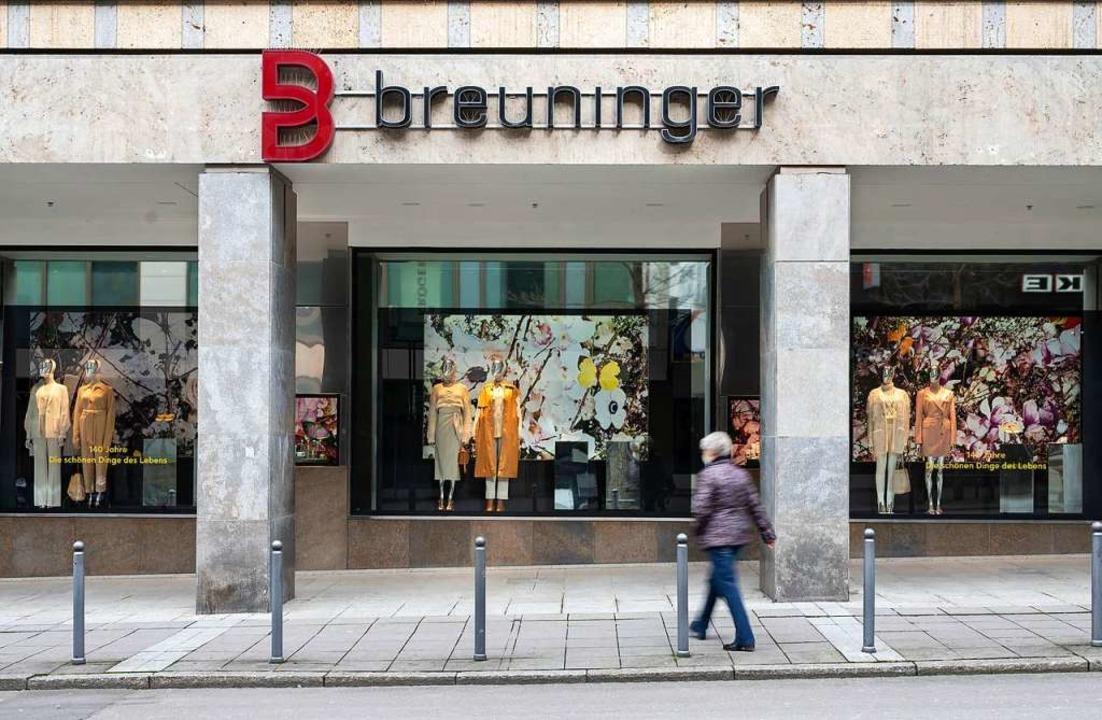 Die Breuninger-Filiale in Stuttgart    Foto: Marijan Murat (dpa)